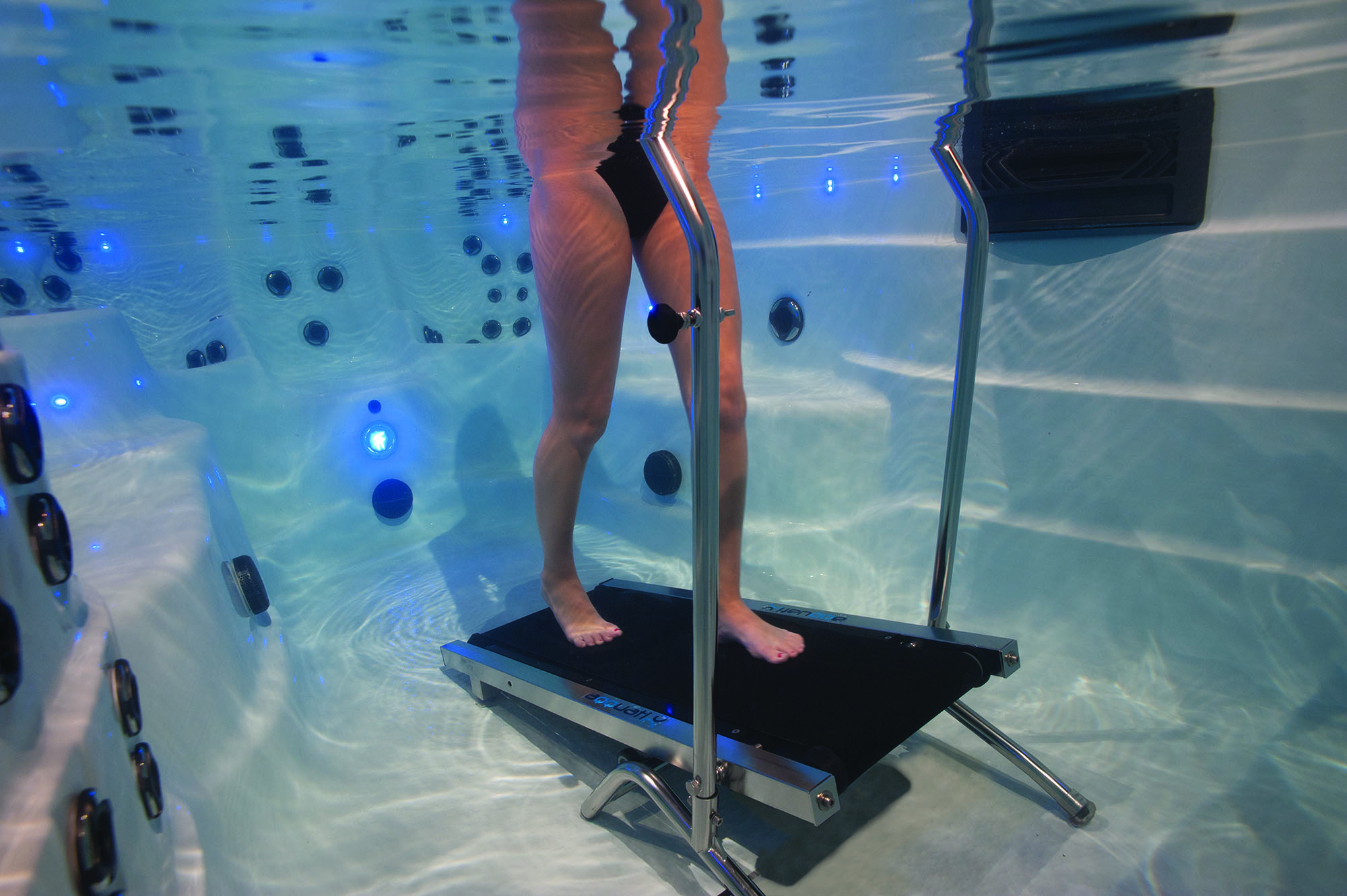 Pool Tech Plus Underwater Treadmills Add Variety To Swim Spa Workouts